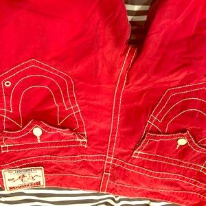 Gently used..True Religion Board Shorts like New!